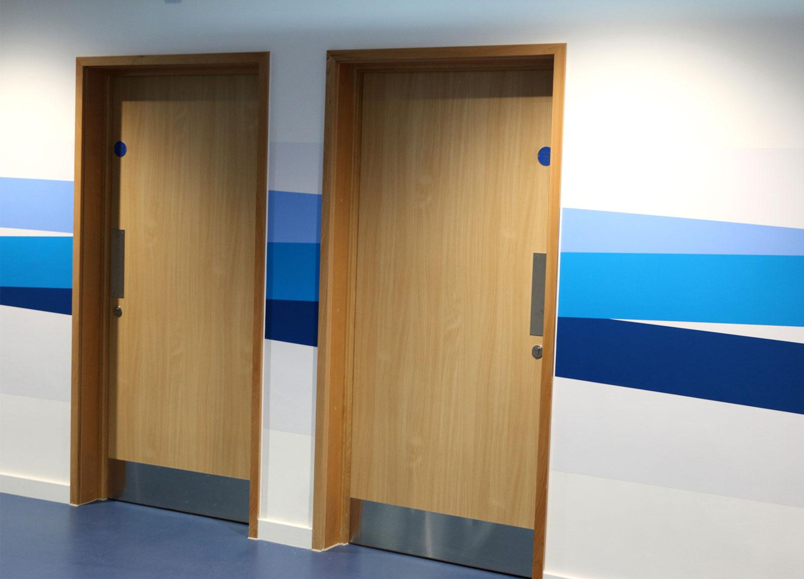 Derby Velodrome Doors bespoke