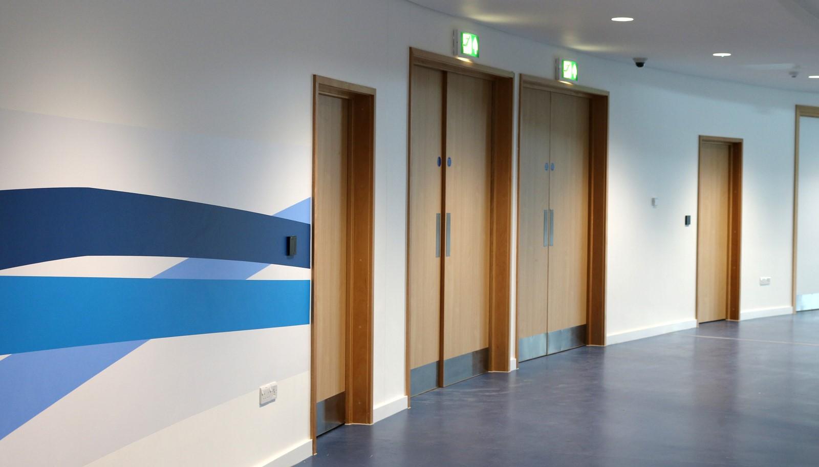 Derby Velodrome Doors & Derby Velodrome Doors - Cotswold Doors