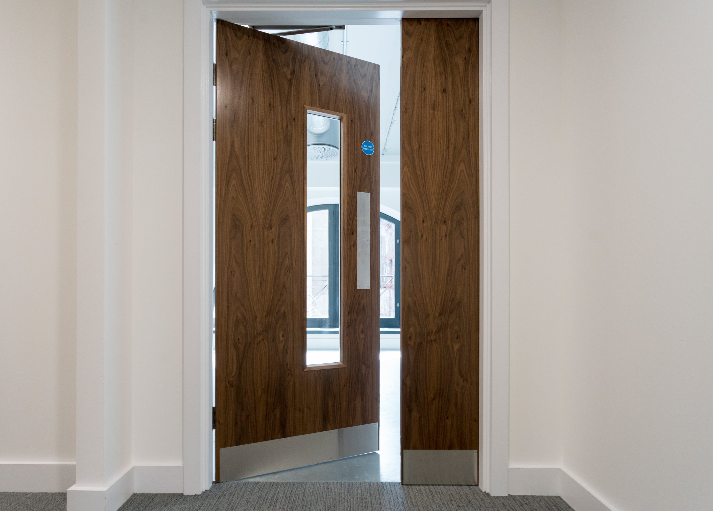 Orchard Court Walnut Door